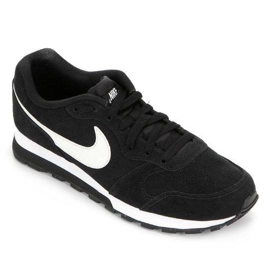 Tênis Nike Md Runner 2 Suede Masculino - Preto+Grafite