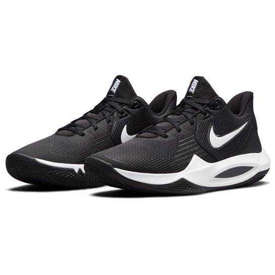 Tênis Nike Precision V - Preto+Branco