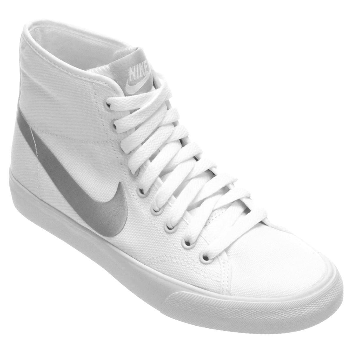 7d9e2f3e0a6 Tênis Nike Primo Court Mid Canvas - Compre Agora