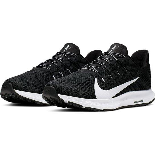 Tênis Nike Quest 2 Masculino - Preto+Branco
