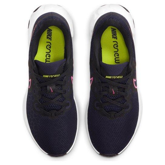 Tênis Nike Renew Ride 2 Feminino - Preto+Rosa