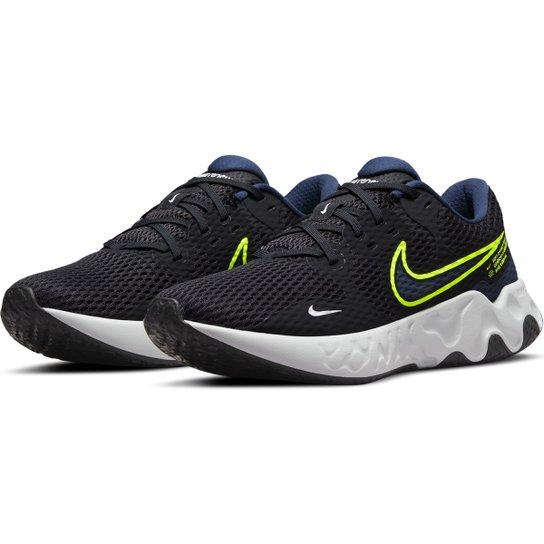 Tênis Nike Renew Ride 2 Masculino - Preto+Cinza