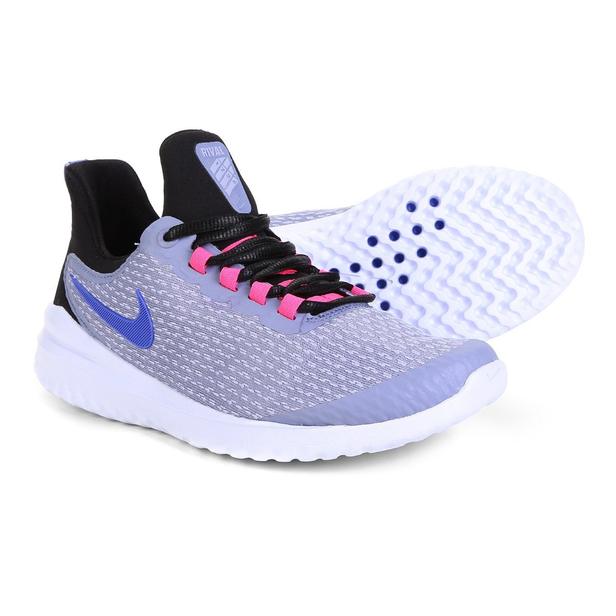 2be35dc2e393e Tênis Nike Renew Rival Feminino - Lilás - Compre Agora   Netshoes