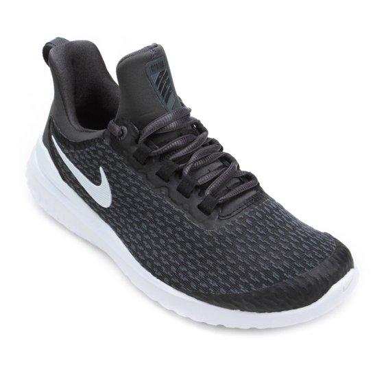 Tênis Nike Renew Rival Feminino - Preto+Branco