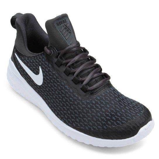 Tênis Nike Renew Rival Masculino - Preto+Branco