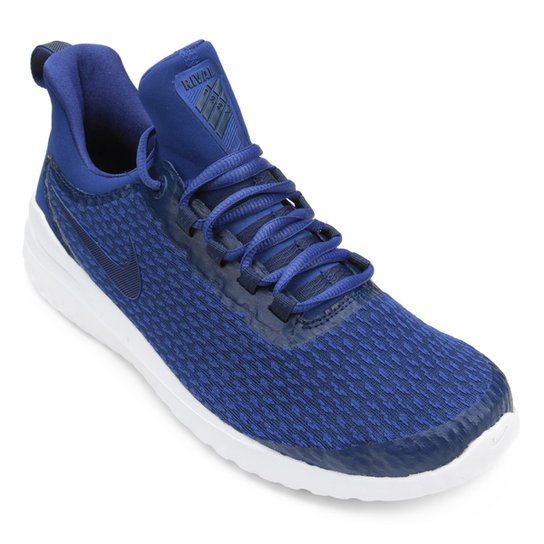 Tênis Nike Renew Rival Masculino - Azul+Branco