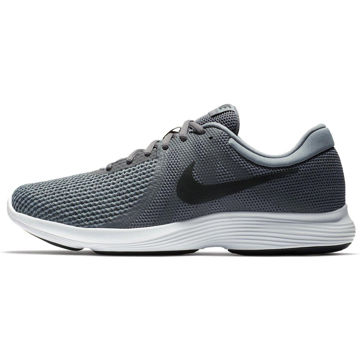 Tênis Nike Revolution 4 Masculino - Cinza e Branco - Compre Agora ... 9ac9edbc16e2d