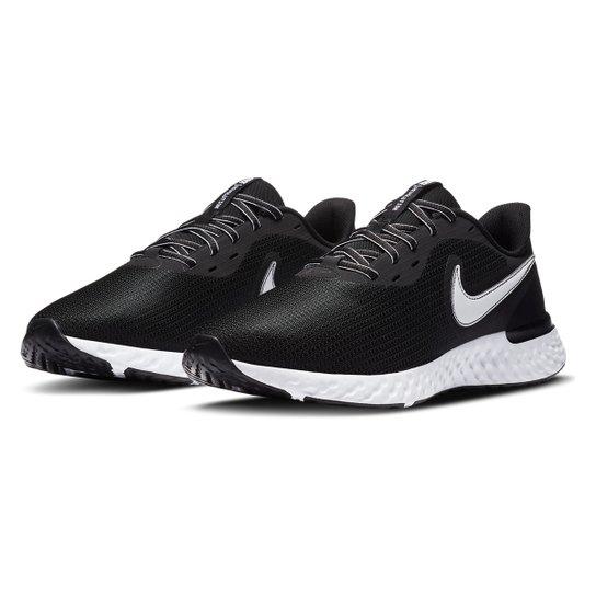 Tênis Nike Revolution 5 Ext Masculino - Preto+Branco