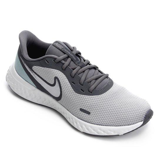 Tênis Nike Revolution 5 Feminino - Cinza
