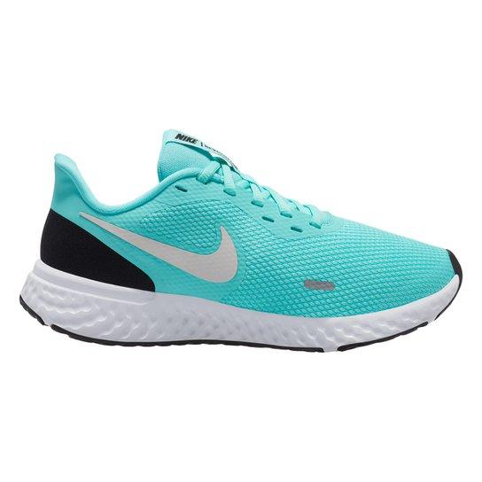 Tênis Nike Revolution 5 Feminino - Verde+Preto