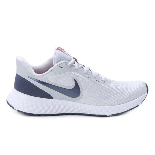 Tênis Nike Revolution 5 Masculino - Cinza Claro