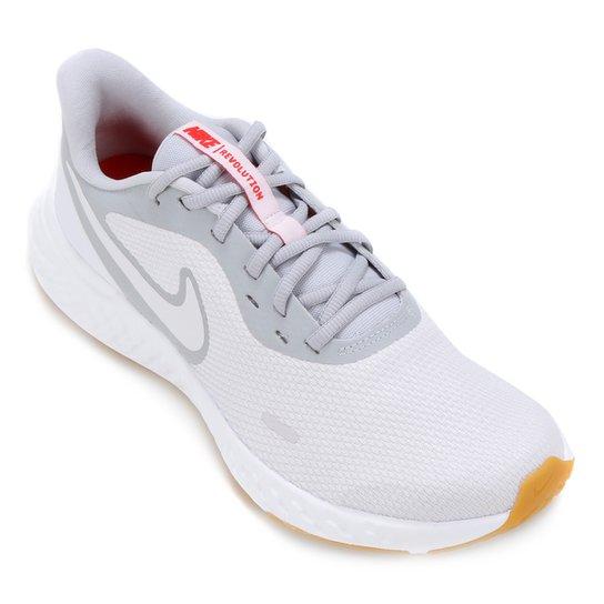 Tênis Nike Revolution 5 Masculino - Prata+Cinza