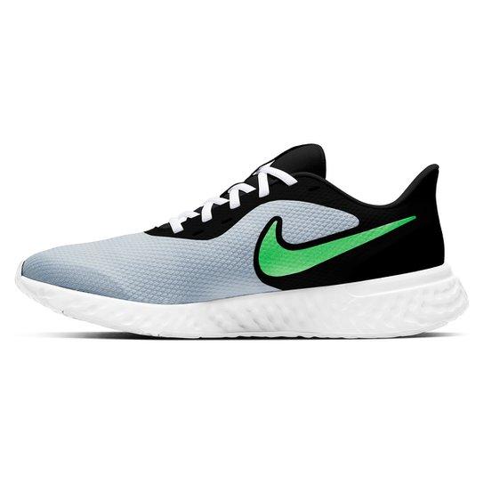 Tênis Nike Revolution 5 Masculino - Preto+verde
