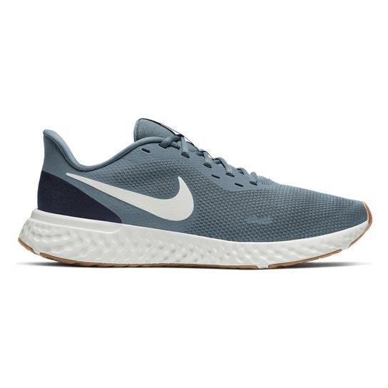 Barrio bajo Tomar un riesgo Competir  Tênis Nike Revolution 5 Masculino - Azul e Marinho   Iicf