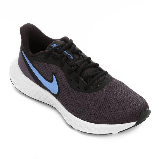 Tênis Nike Revolution 5 Masculino - Azul+Cinza