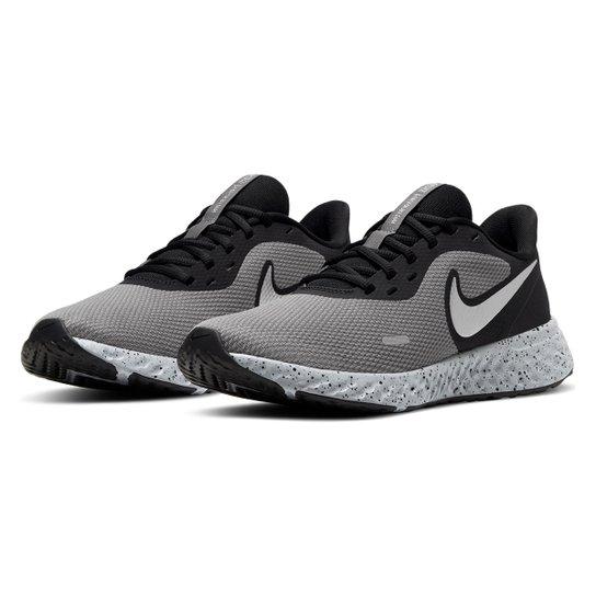 Tênis Nike Revolution 5 Prm Masculino - Preto+Cinza