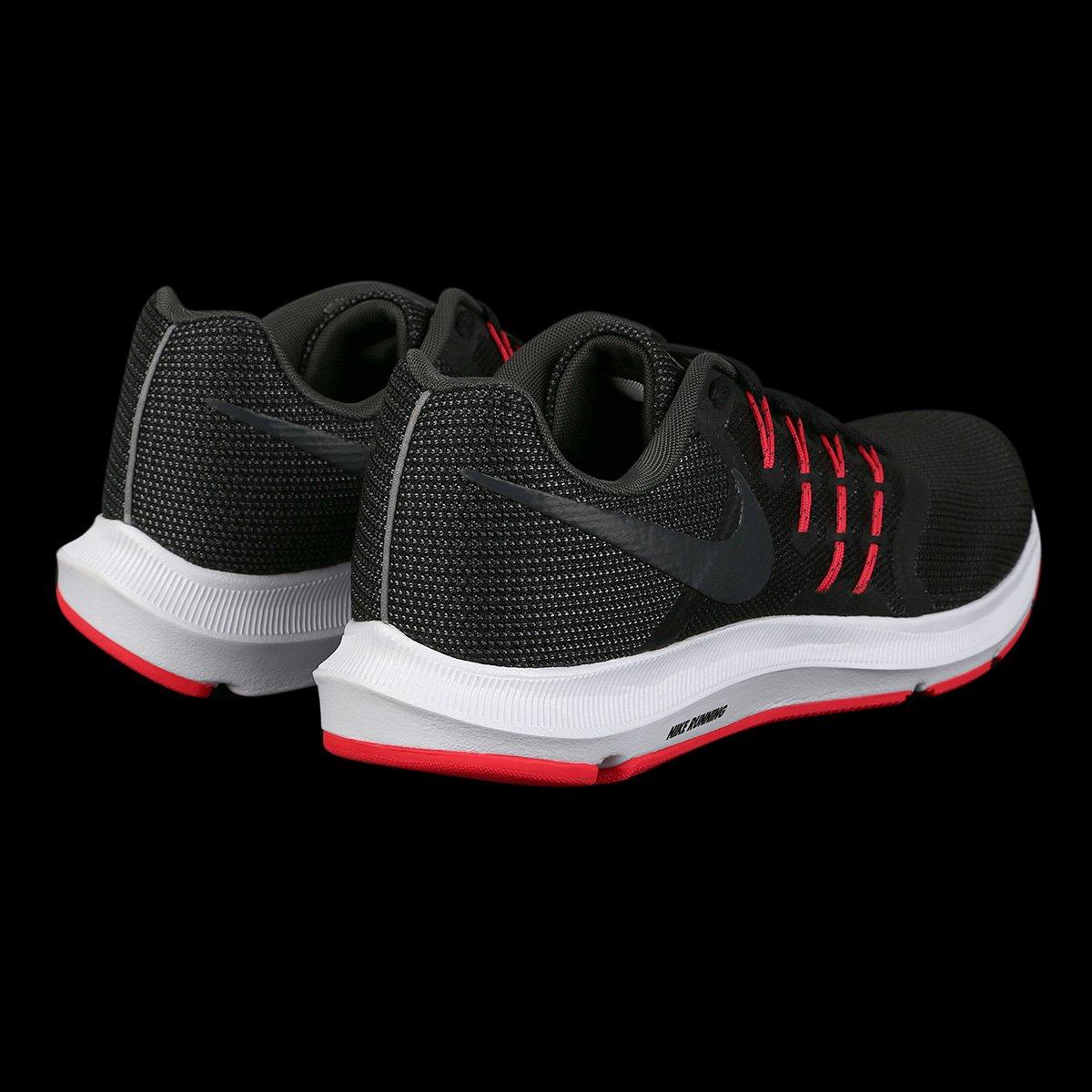 3fb5bf12a Tênis Nike Run Swift Feminino - Preto e Vermelho