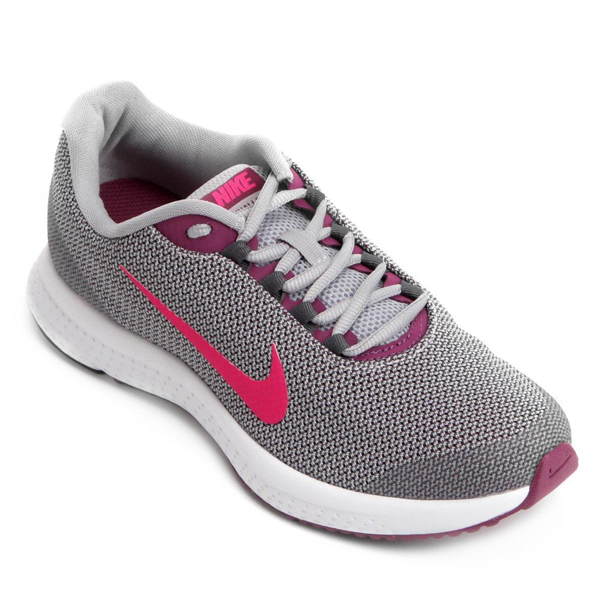 Tênis Nike Runallday Feminino Cinza