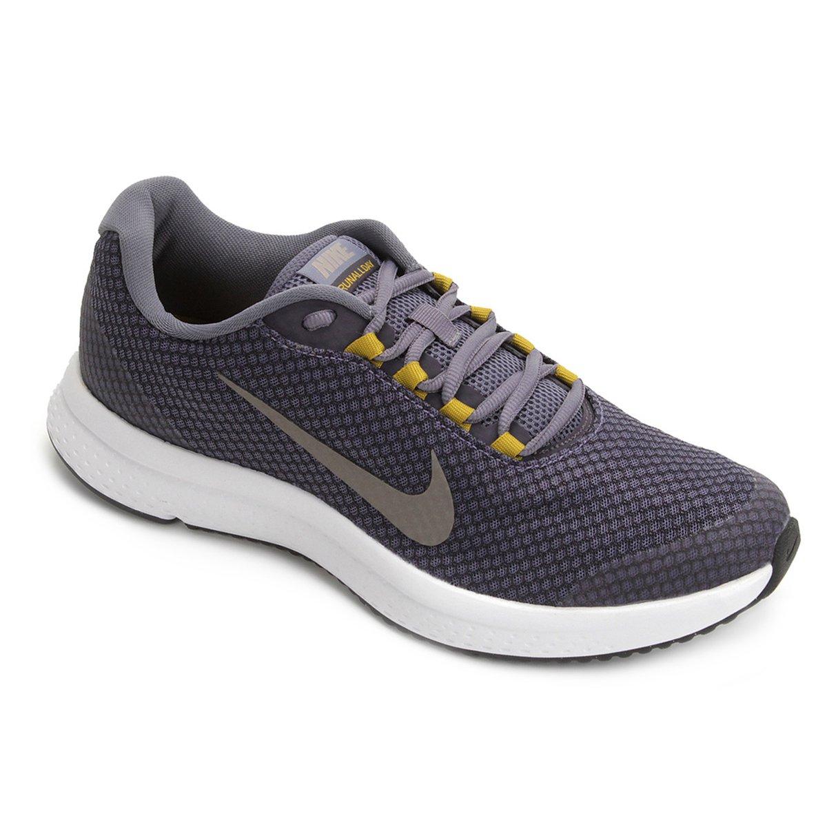 Tênis Nike Runallday Masculino - Azul e Cinza - Compre Agora  ccf151c5975