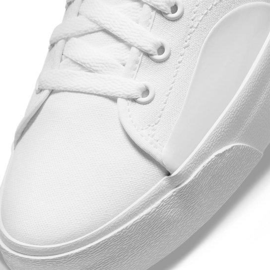 Tênis Nike Sb Blazer Court - Branco+Preto