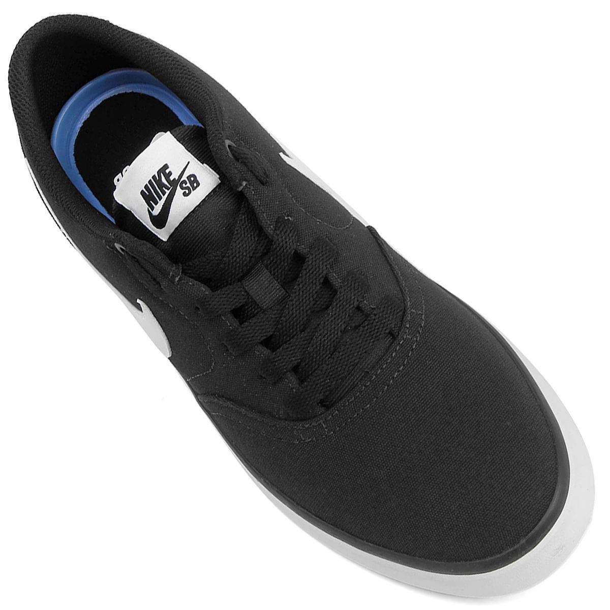 ca49979f27 Tênis Nike Sb Check Solar Cnvs Masculino - Preto e Branco - Compre ...