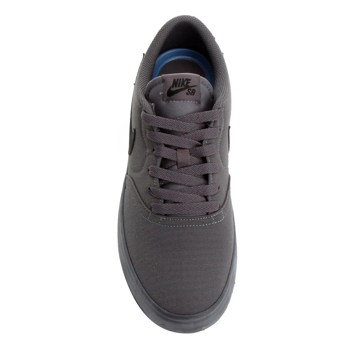... Tênis Nike Sb Check Solar Cnvs Masculino - Preto e Cinza - Compre . f340842fb00e5
