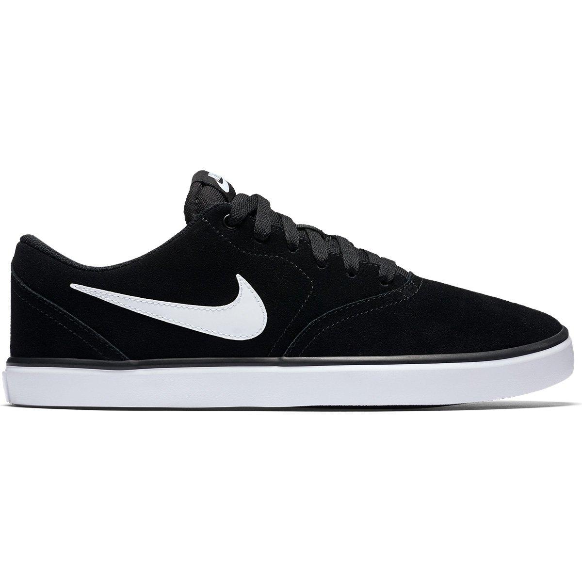d4963d048c Tênis Nike Sb Check Solar Masculino - Preto e Branco - Compre Agora ...