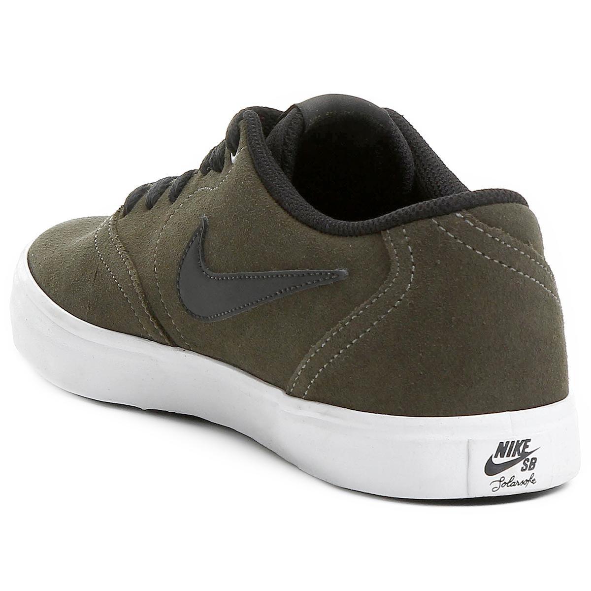 Verde Militar Check Preto Nike e Solar Masculino Sb Tênis wyqCSOHq