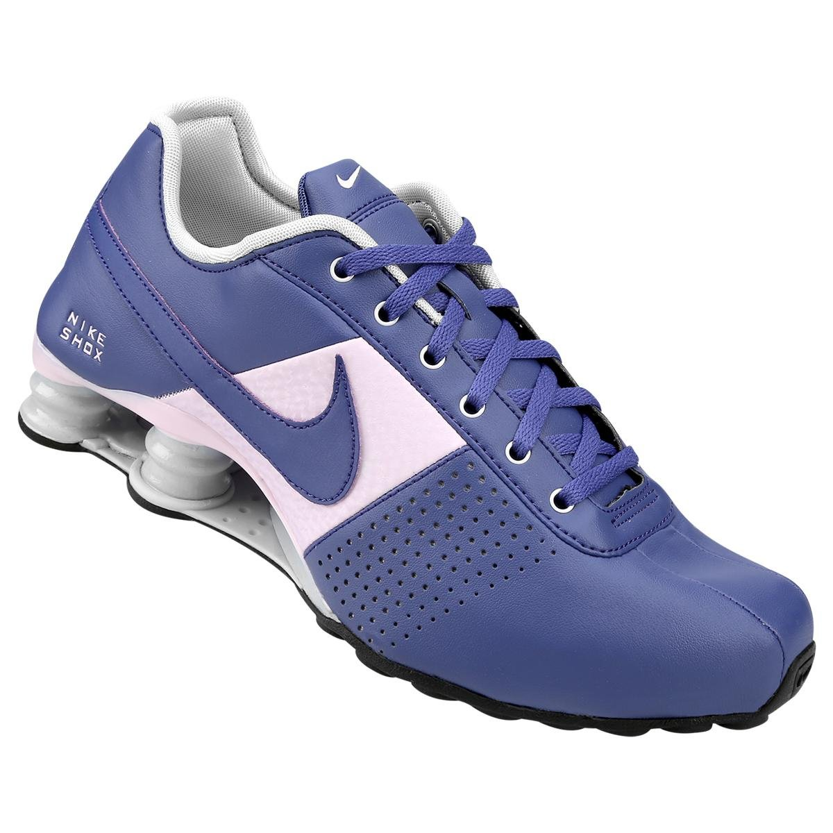 detailed look bdace 1c808 ... reduced tênis nike shox deliver azul e rosa 1be50 01cf8