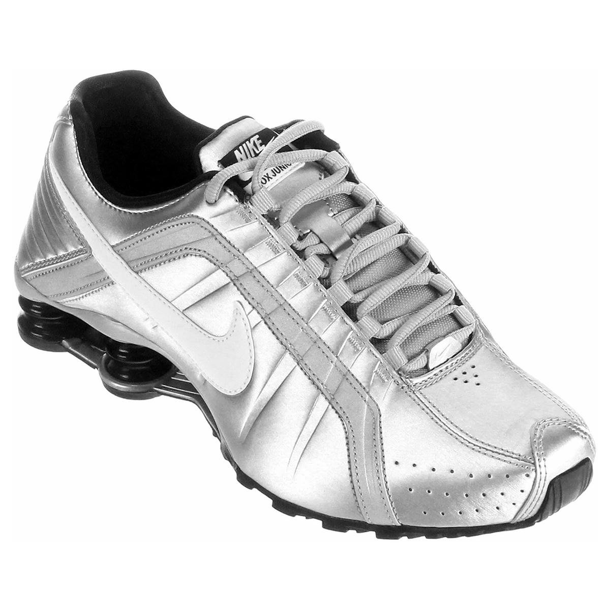 caf00dc747d ... new zealand tênis nike shox junior pratabranco a5707 27a37