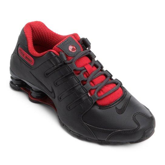 Tênis Nike Shox Nz Se  - Preto+Vermelho