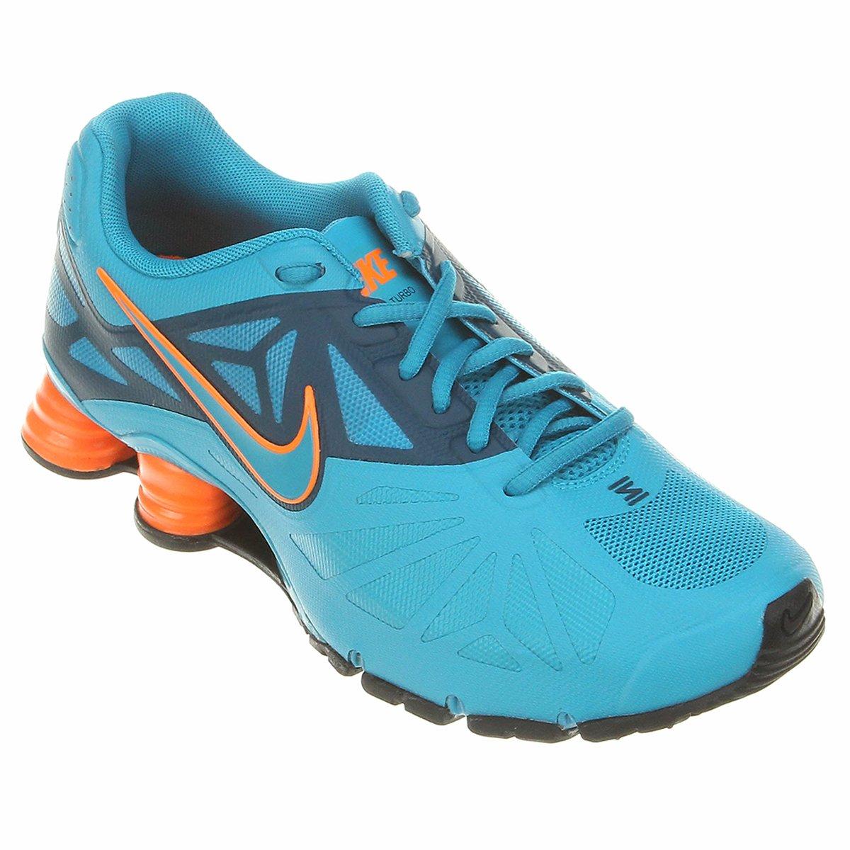 low priced 4417b 26ce6 ... Tênis Nike Shox Turbo 14 - Azul Claro .