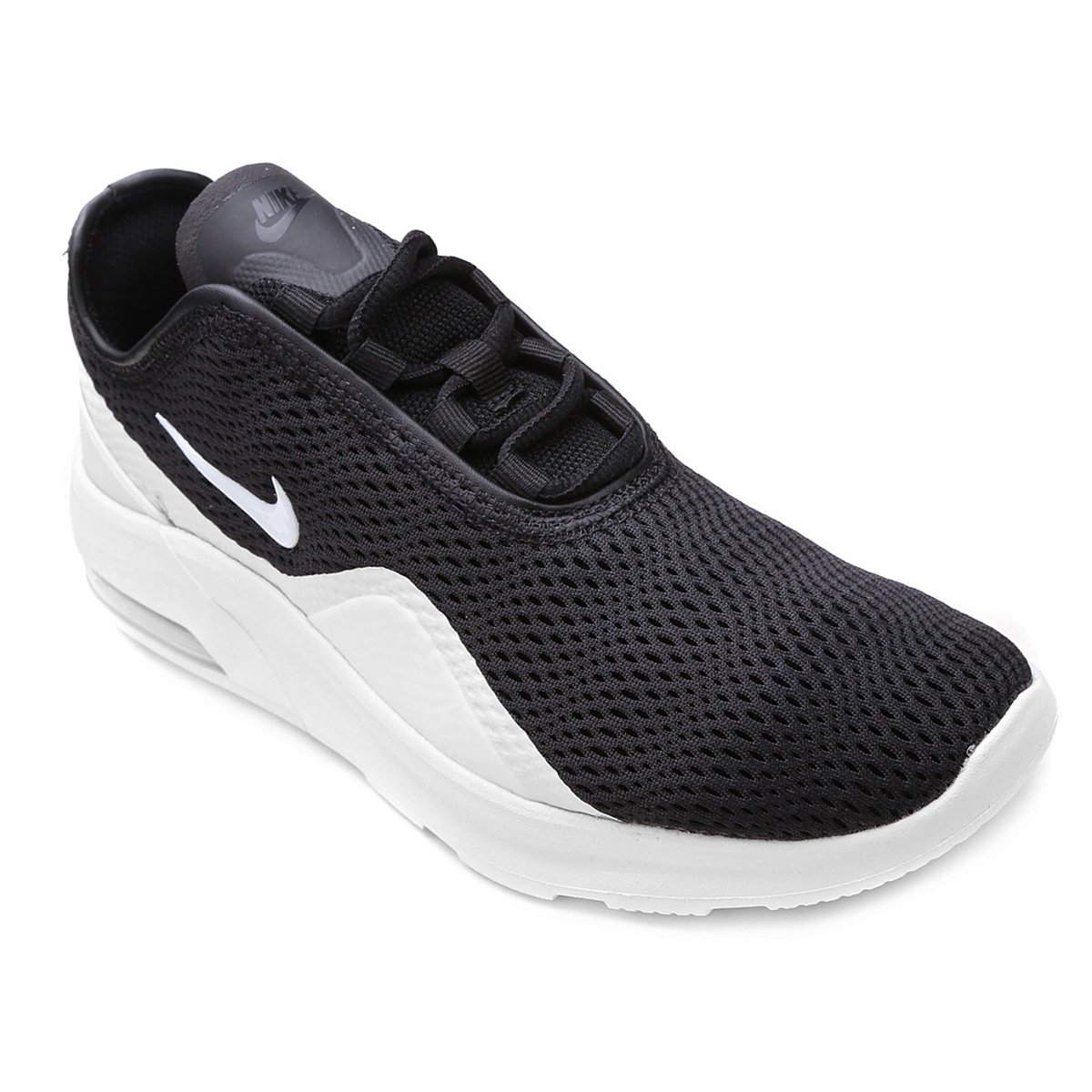 Canguro Duplicar Un fiel  Tênis Nike Wmns Air Max Motion Feminino - Preto e Branco | Reddebibliotecas