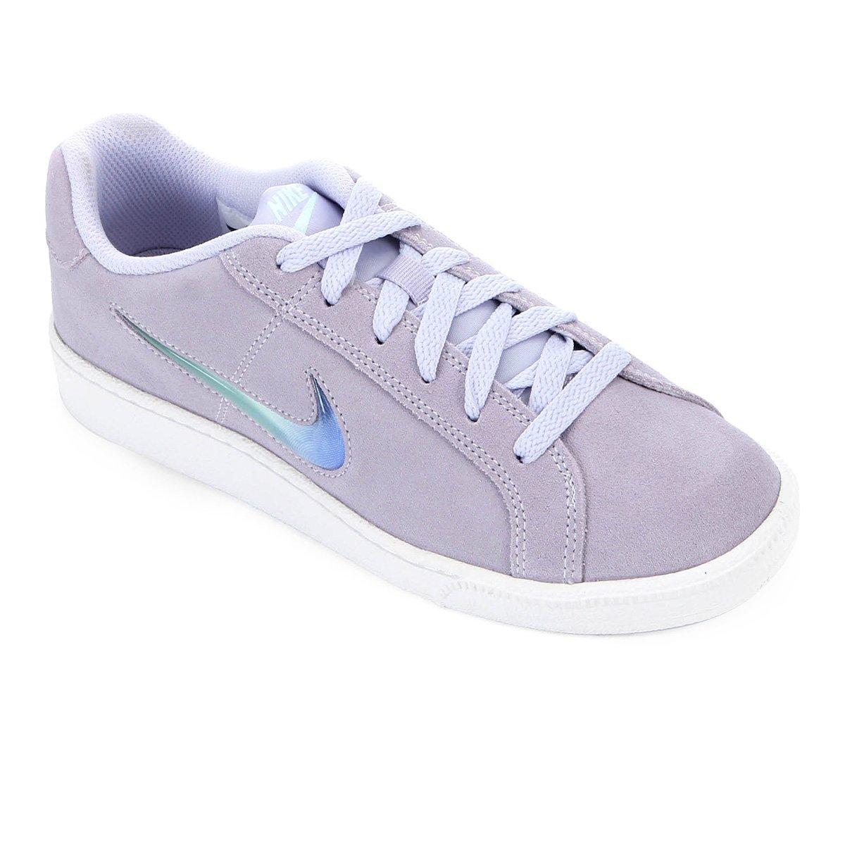 Tênis Nike Wmns Court Royale Feminino Cinza