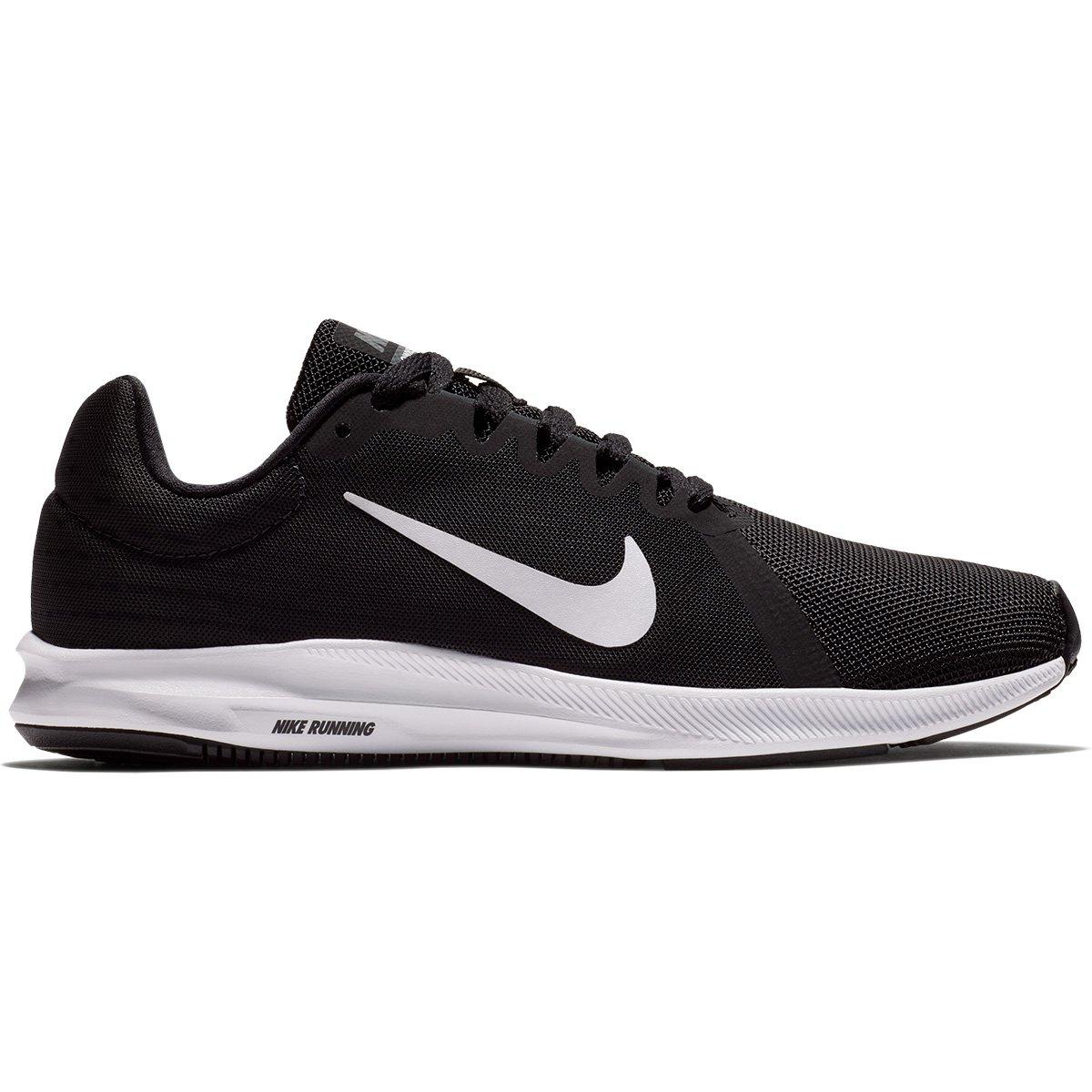 Tênis Nike Wmns Downshifter 8 Feminino - Preto e Branco - Compre Agora  fda485e426bdc