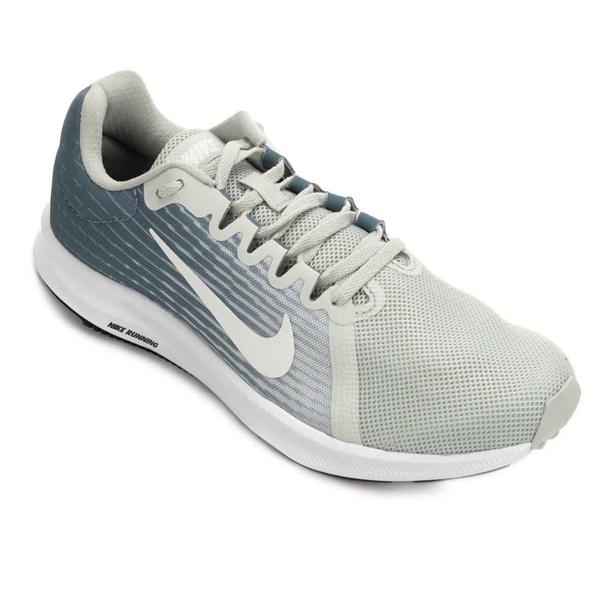 Tênis Nike Wmns Downshifter 8 Feminino - Azul e Chumbo - Compre ... ed17097fda