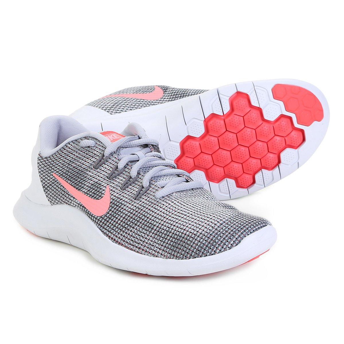 1d89217d83323 Tênis Nike Wmns Flex 2018 Rn Feminino - Cinza - Compre Agora