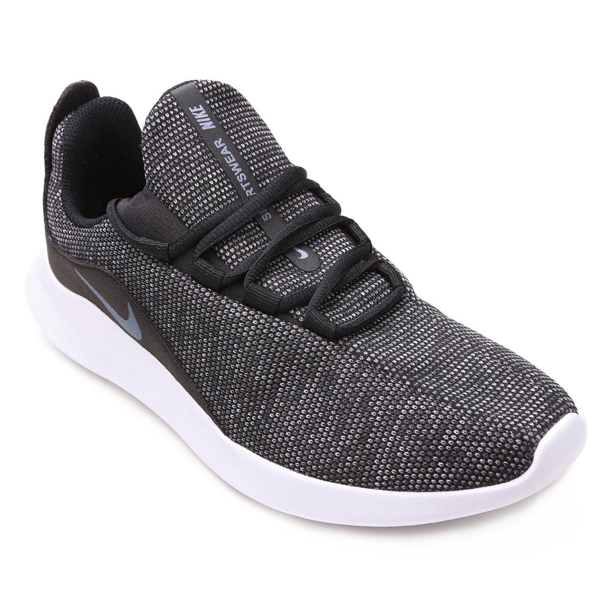 5a7ceb886 Tênis Nike Wmns Viale Prem Feminino - Preto e Azul - Compre Agora ...