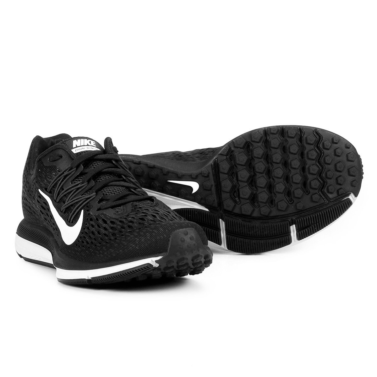 16e5357143 Tênis Nike WMNS Zoom Winflo 5 Feminino - Preto e Branco - Compre Agora