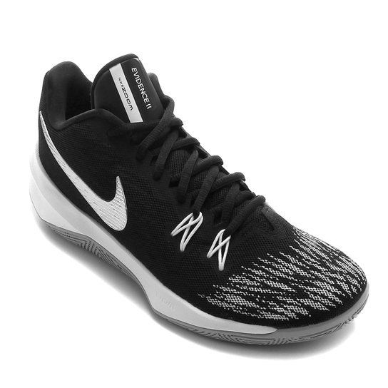 Tênis Nike Zoom Evidence II Masculino - Preto+Cinza