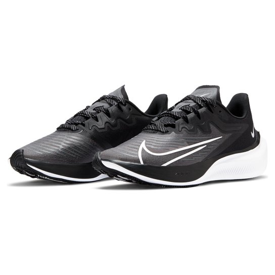 Tênis Nike Zoom Gravity 2 Feminino - Preto+Branco
