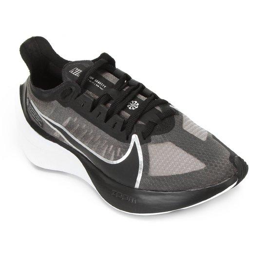 Tênis Nike Zoom Gravity Feminino - Preto+Prata