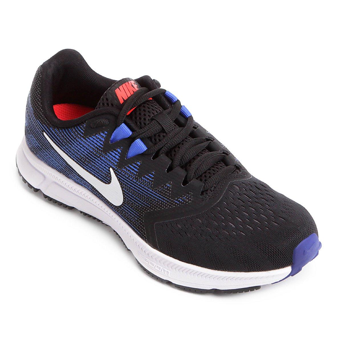 2 Zoom Preto Tênis Tênis Span Branco e Nike Masculino Nike wCR41Taq