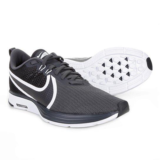 Tênis Nike Zoom Strike 2 Masculino - Preto+Branco