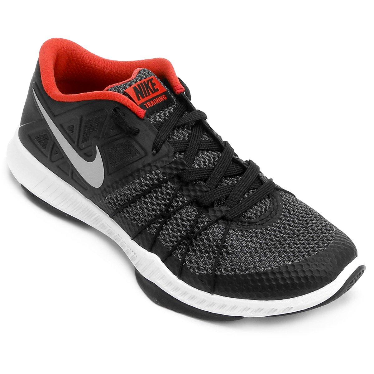 Nike Preto e Masculino Tênis Zoom Train Nike Tênis Laranja Augmento qApSwZEw