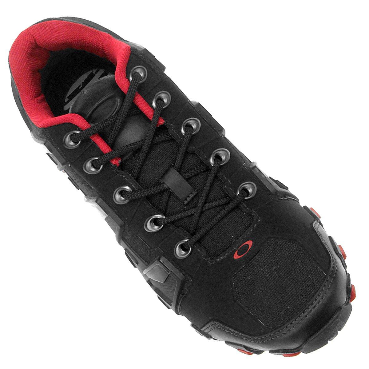 Tênis Oakley Hardshell - Preto e Vermelho - Compre Agora   Netshoes 2488e357ee