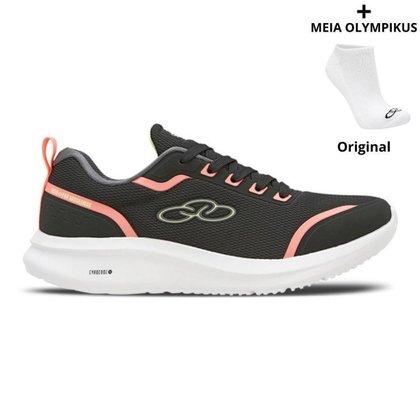 Tênis Olympikus Estelar Feminino +  Meias Olympikus Originais
