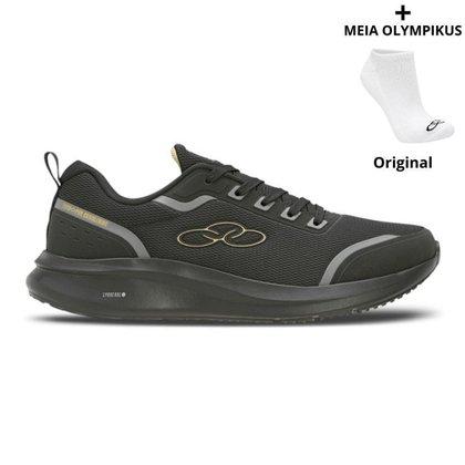Tênis Olympikus Estelar Masculino +  Meias Olympikus Originais
