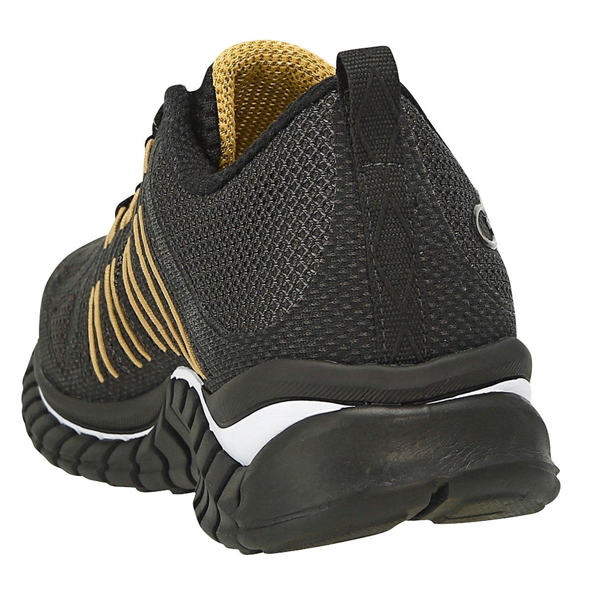 0a67eebb63 Tênis Olympikus Extreme Masculino - Preto e Dourado - Compre Agora ...