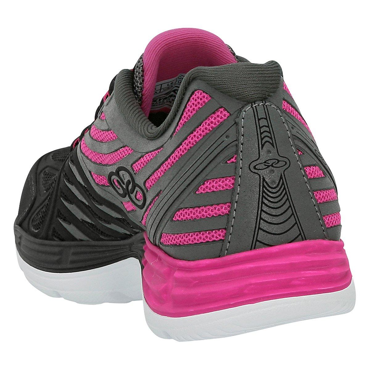 Tênis Olympikus Flix 2 Feminino - Preto e Pink - Compre Agora  ec53e782168f1